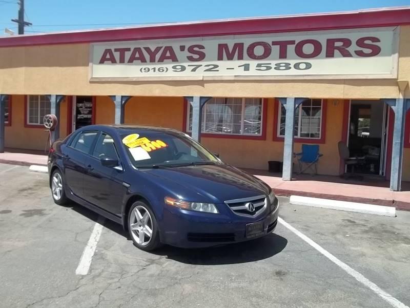 Acura Tl Dr Sedan WNavi In Sacramento CA Atayas Motors - 2005 acura tl navigation update