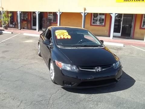 2007 Honda Civic for sale at Atayas Motors INC #1 in Sacramento CA