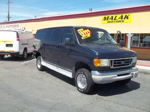 2003 Ford E-Series Wagon for sale at Atayas Motors INC #1 in Sacramento CA