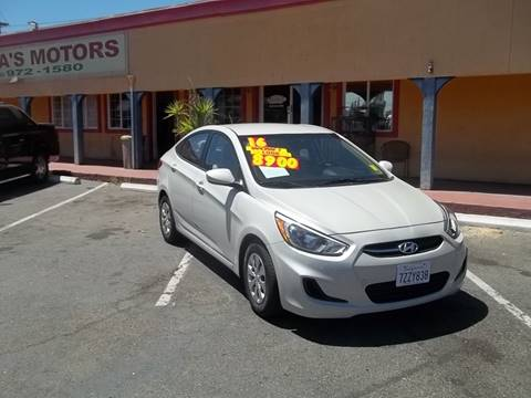 2016 Hyundai Accent for sale at Atayas Motors INC #1 in Sacramento CA