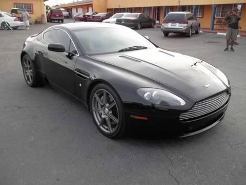 2006 Aston Martin V8 Vantage for sale at Atayas Motors INC #1 in Sacramento CA