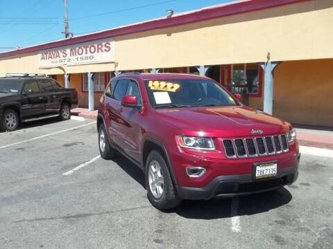 2014 Jeep Grand Cherokee for sale at Atayas Motors INC #1 in Sacramento CA