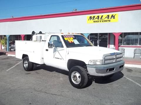 1999 Dodge Ram Chassis 3500 for sale at Atayas Motors INC #1 in Sacramento CA
