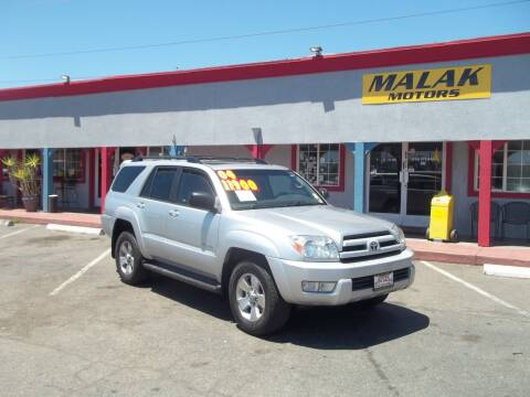2004 Toyota 4Runner for sale at Atayas Motors INC #1 in Sacramento CA