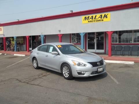 2015 Nissan Altima for sale at Atayas Motors INC #1 in Sacramento CA