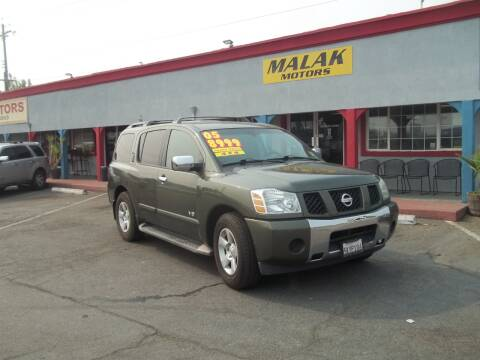 2005 Nissan Armada for sale at Atayas Motors INC #1 in Sacramento CA