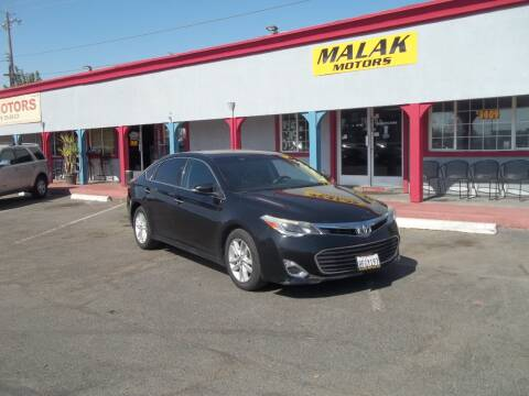 2015 Toyota Avalon for sale at Atayas Motors INC #1 in Sacramento CA