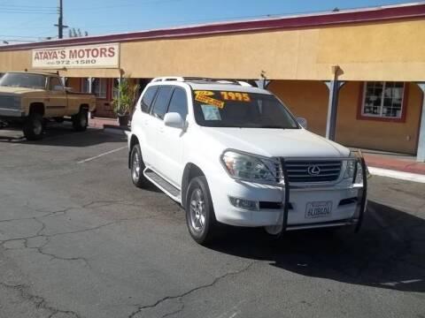 2003 Lexus GX 470 for sale at Atayas Motors INC #1 in Sacramento CA