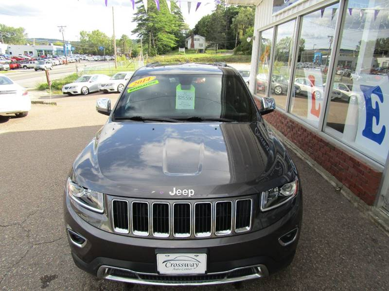 2014 Jeep Grand Cherokee 4x4 Limited 4dr SUV - Montpelier VT