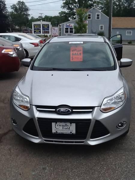 2012 Ford Focus SE 4dr Hatchback - East Hampton CT