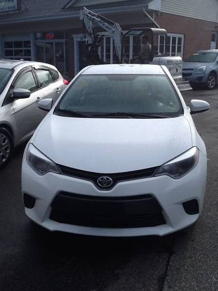 2016 Toyota Corolla LE 4dr Sedan - East Hampton CT