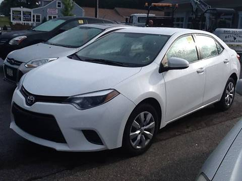 2016 Toyota Corolla for sale in East Hampton, CT