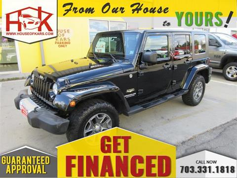 2010 Jeep Wrangler Unlimited for sale in Manassas, VA