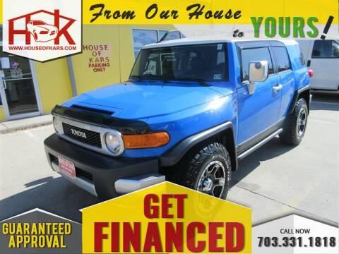 2007 Toyota FJ Cruiser for sale at House Of Kars in Manassas VA