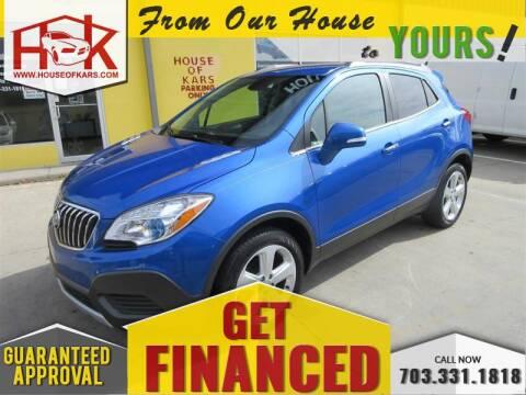 2015 Buick Encore for sale at House Of Kars in Manassas VA