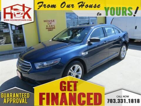 2017 Ford Taurus SE for sale at House Of Kars in Manassas VA