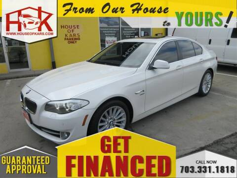 2011 BMW 5 Series 535i xDrive for sale at House Of Kars in Manassas VA