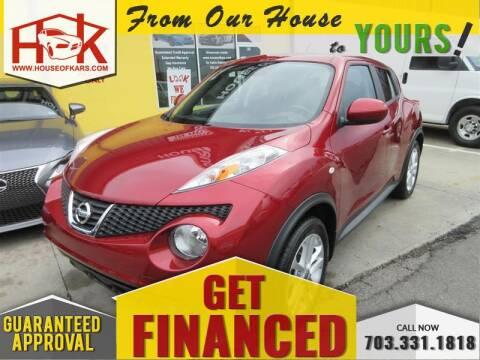 2014 Nissan JUKE SL for sale at House Of Kars in Manassas VA