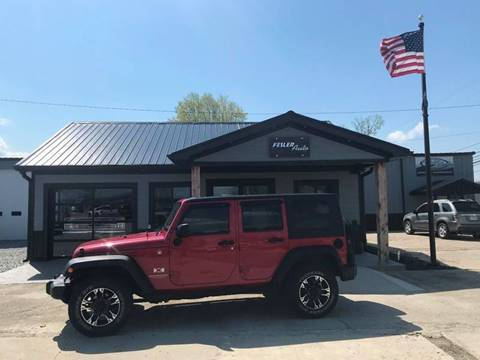 2009 Jeep Wrangler Unlimited for sale in Pendleton, IN