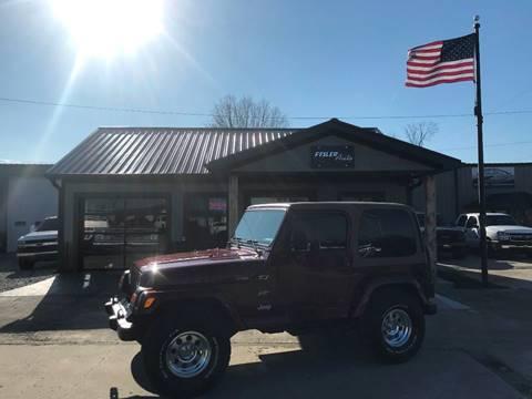 2002 Jeep Wrangler for sale in Pendleton, IN