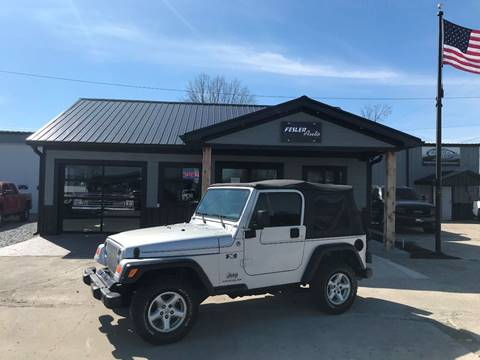 2005 Jeep Wrangler for sale in Pendleton, IN