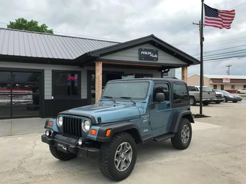 1999 Jeep Wrangler for sale in Pendleton, IN