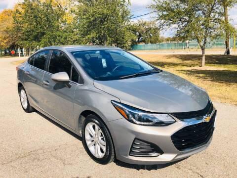 2019 Chevrolet Cruze for sale at Prestige Motor Cars in Houston TX