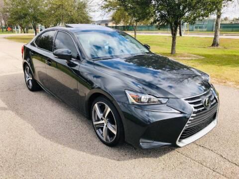 2017 Lexus IS 200t for sale at Prestige Motor Cars in Houston TX
