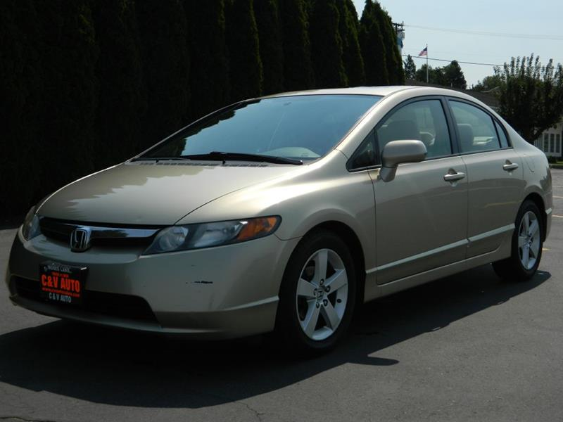 2008 Honda Civic EX 4dr Sedan 5A   Moses Lake WA
