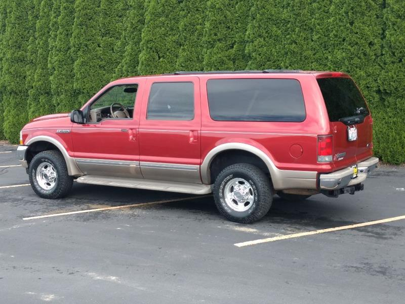 2002 Ford Excursion for sale at C & V Auto Sales & Service in Moses Lake WA