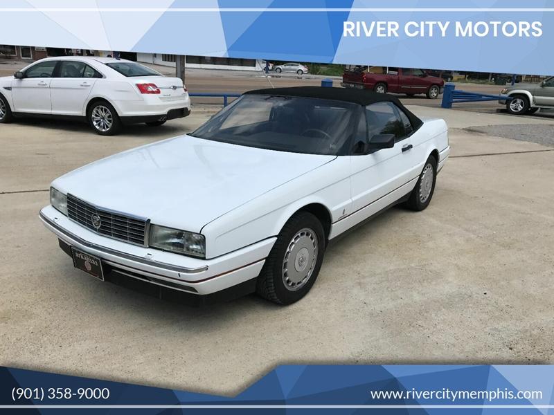 Cadillac Of Memphis >> 1992 Cadillac Allante 2dr Convertible In Memphis Tn River