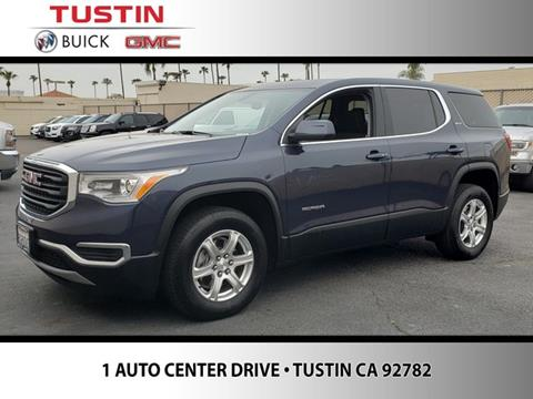 2019 GMC Acadia for sale in Tustin, CA