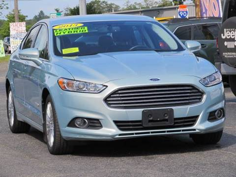 2013 Ford Fusion Hybrid for sale in Worcester, MA