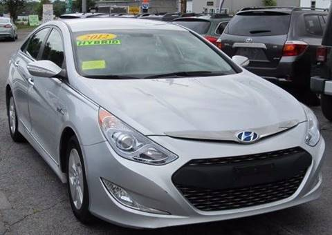 2012 Hyundai Sonata Hybrid for sale in Worcester, MA