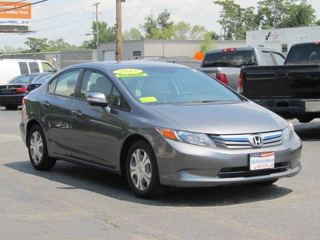 2012 Honda Civic Hybrid Wnavi In Worcester Ma Metrowest Auto Sales