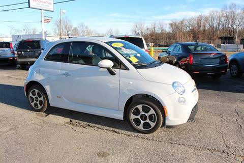 2017 FIAT 500e for sale at MetroWest Auto Sales in Worcester MA