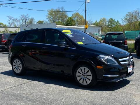 2017 Mercedes-Benz B-Class for sale at MetroWest Auto Sales in Worcester MA
