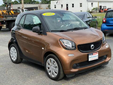 2016 Smart fortwo for sale at MetroWest Auto Sales in Worcester MA