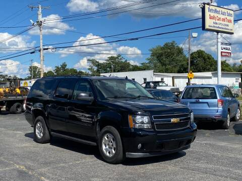2013 Chevrolet Suburban for sale at MetroWest Auto Sales in Worcester MA