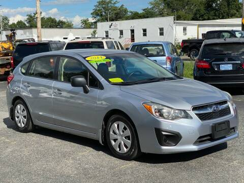 2014 Subaru Impreza for sale at MetroWest Auto Sales in Worcester MA