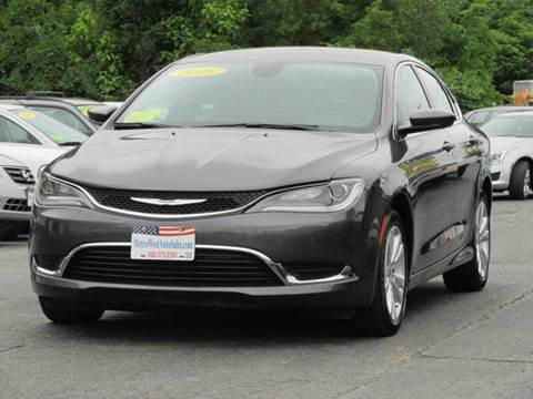 2015 Chrysler 200 for sale in Worcester, MA