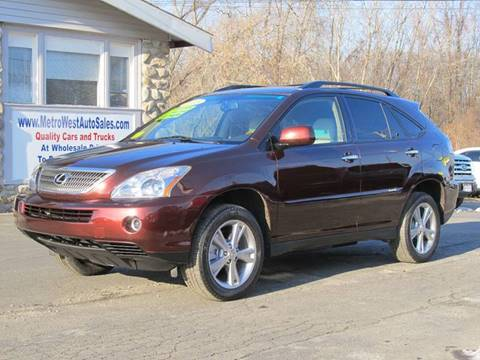2008 Lexus RX 400h for sale in Worcester, MA