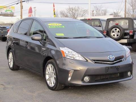 2013 Toyota Prius v for sale in Worcester, MA
