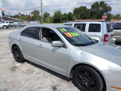 2010 Ford Fusion for sale in Houston, TX