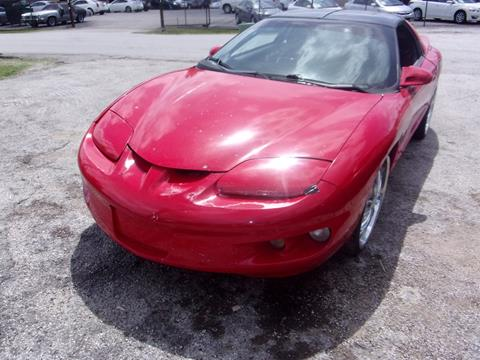 1999 Pontiac Firebird for sale in Houston, TX