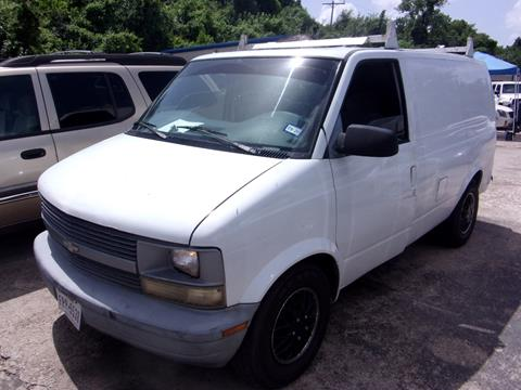 1997 Chevrolet Astro Cargo for sale in Houston, TX