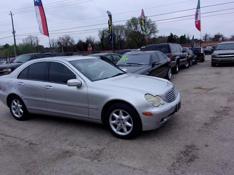 2003 Mercedes-Benz C-Class for sale in Houston, TX