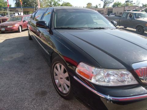 Lincoln town car for sale in houston tx for Scott harrison motors houston tx