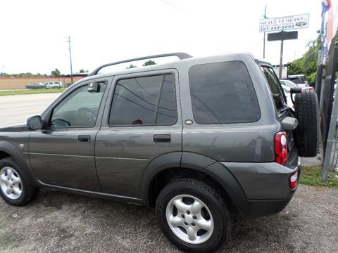 2004 Land Rover Freelander for sale in Houston, TX