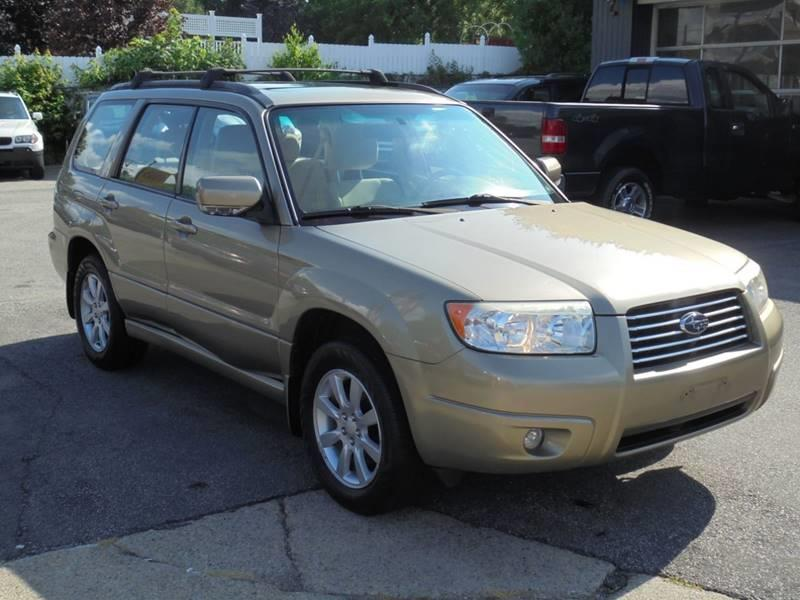 2008 Subaru Forester Awd 25 X Premium Package 4dr Wagon 5m In Ware